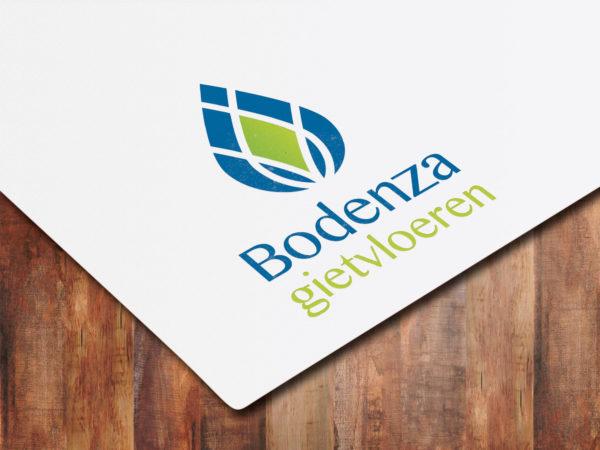Logo ontwerp Bodenza gietvloeren