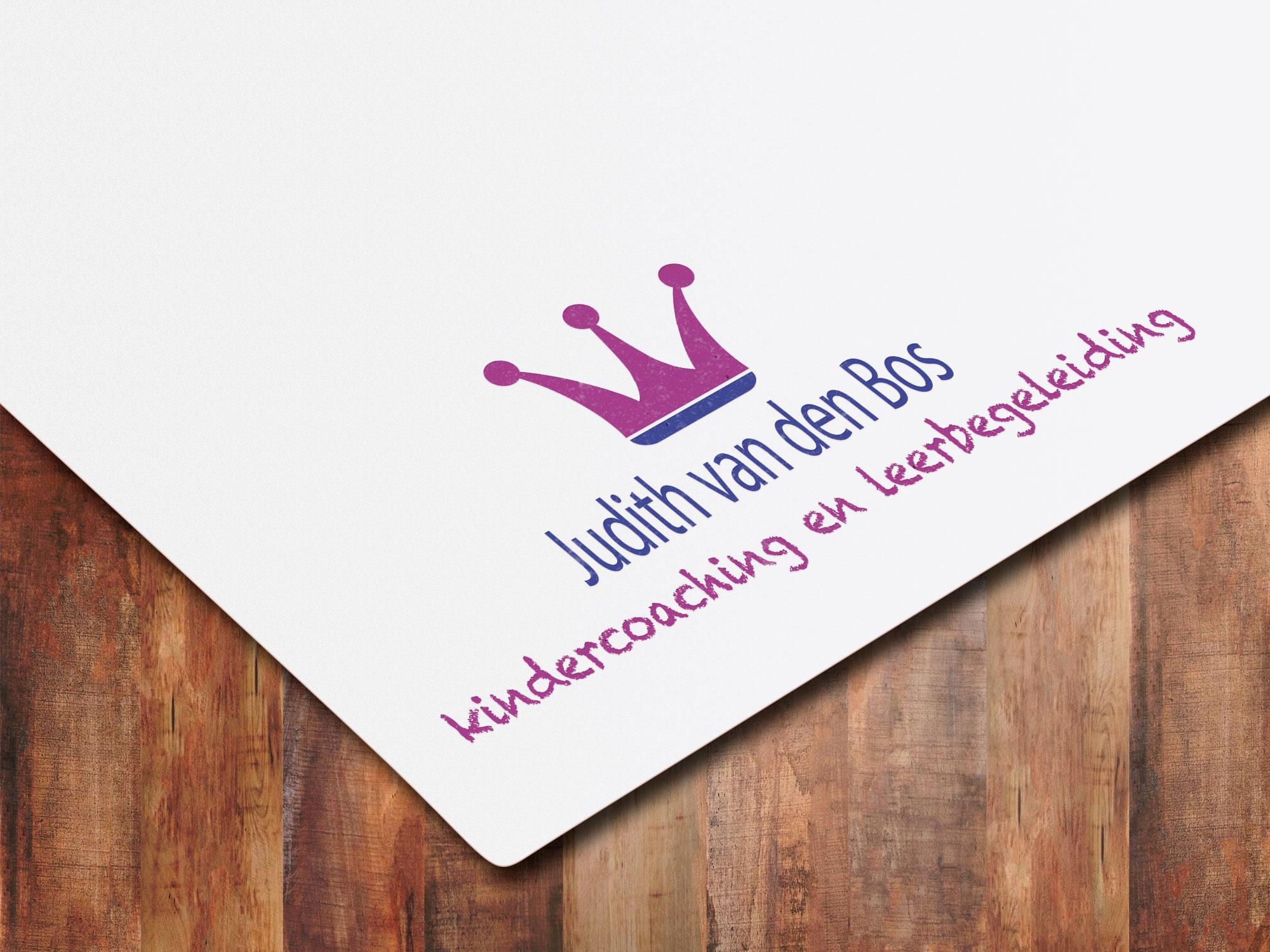 Logo ontwerp Judith van den Bos