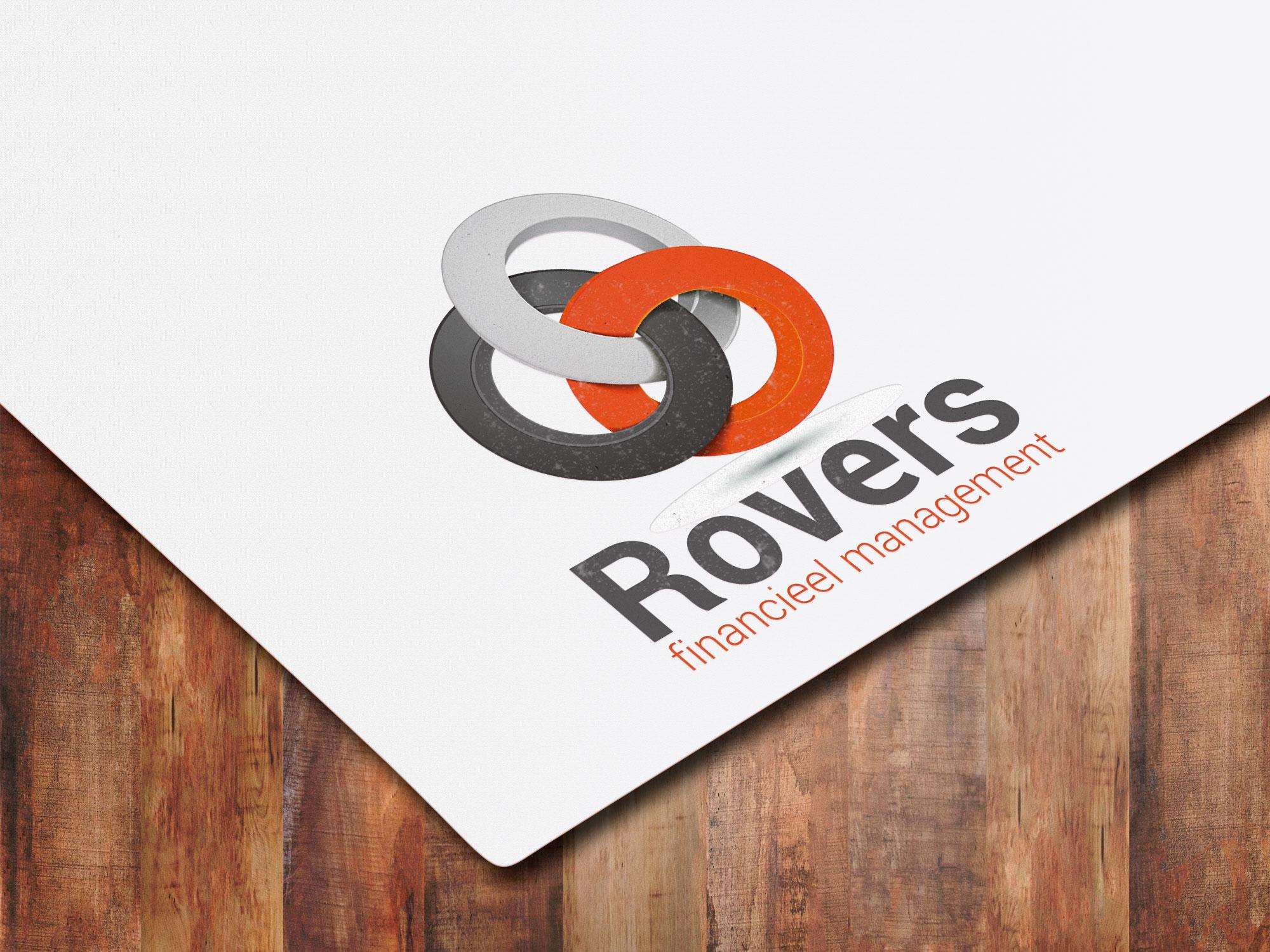 Logo ontwerp Rovers financieel management