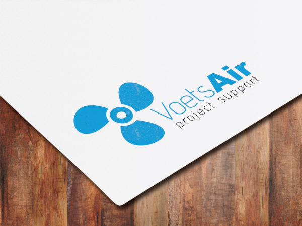 Logo ontwerp VoetsAir
