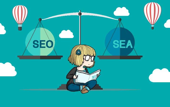 De verschillen tussen SEO en SEA
